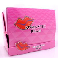 Wholesale peel off lipstick stain online - Hot Sale Lip Gloss Lipstick Peel off Lasts For h No Stain Marine Collagen Lipstick Balm Plant Romantic Bear Makeup Moisturizing Lip Mask