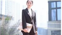 Wholesale Tailor Suit Women - The new black long-sleeved, black long-sleeve tailored suit jacket lady south Korean casual color black clothes