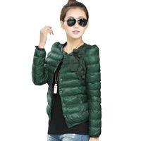 Wholesale New Winter Coats For Women - 2015 New Fashion Parkas For Women winter Slim Design Short Wadded Down Jacket Outerwear Warm Jackets Lady Down parkas Coat