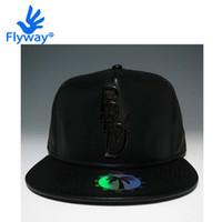 Wholesale Blvd Caps - Wholesale-Cap Hat Hip Hop Snapback Original Full Black Leather BLVD SUPPLY Gansta Bulls