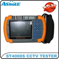 """Wholesale Cctv Tester Dhl - 3.5"""" multiple protocols supported cctv tester monitor ST4000S DHL free shipping"""