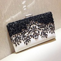 UNstyle Modern Elegant Temperament Party Handtaschen Mode Edle Kristall Besetzte Diamant Abend Clutch High Grade Voller Strass EB002
