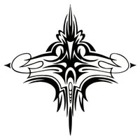 Wholesale Tribal Material - TRIBAL PINSTRIPE ACCENT CAR TRUCK WALL HOOD GRAPHIC VINYL DECAL STICKER