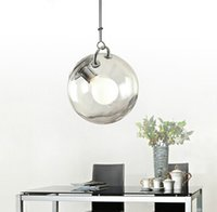Wholesale Modern Italian Living Rooms - Creative Italian Bubble Pendent Lamp Glass Pendent Lamp Modern Simple Style Personality Bar Loft Bubble Pendent Lamp