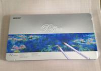 Wholesale marco pencil - Marco raffine 72 colored pencils lapis de cor profissional iron boxed lapis de cor school