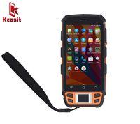 Wholesale Reader Uhf - Wholesale- China Handheld Terminal Kcosit C5 PDA Fingerprint Reader UHF HF LF RFID 1D 2D Laser Barcode Android 5.1 Scanner 4G 2GB RAM NFC