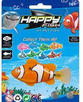 Wholesale Kids Pool Wholesalers - Happy Fish Toy Robot Nemo Swimming Electronic Swimming Fish in Water Kids Pool Fun