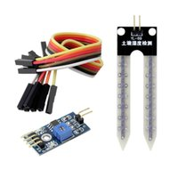 Wholesale Soil Humidity Arduino - 1Pc Soil Hygrometer Humidity Detection Module Moisture Water Sensor for Arduino Hot Promotion