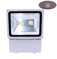 Wholesale Photo Sensor Outdoor - Photo Sensor IP65 100w led flood light with good quality 100% Full watt chip thick lamp shell