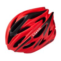 Wholesale Bike Helmets For Women - 245g Ultralight 58-61cm Men Women Road Bike Helmets for Pro Sports Bicycle Race Cycling Safety Helmet Headgear Accessories 6Colors