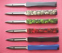 Wholesale Option Pockets - 6 Options Micro 152-1T Nemesis IV 4 knife S30V blade 6061-T6 handle Satin survival pocket knife knives with logo New in Original box