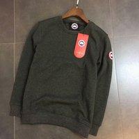Wholesale Sweatshirt Men Lines - 2017 New Luxury Brand men casual Hoodies Warm sweatshirt Canada Plus Velvet Lining pullover Sweatshirts Christmas Gift