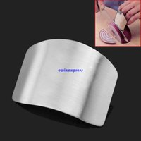 Wholesale Gadget Guard - Stainless steel Finger guard protector finger protector chopping hand harmless cutting Safety Guard Kitchen cooking gadgets tools