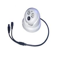 Wholesale Effio P Dome - HD Sony Effio-E 700TVL 3.6mm Lens Indoor Dome Array IR CCTV Security Camera P N