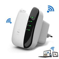 Wholesale Routers Wifi Range - Wireless 802.11N WPS 300Mbps Wifi Repeater AP Router Range Expander