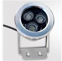 Wholesale underwater lights 3w resale online - Waterproof W W V LED Floodlight Outdoor Underwater LED Flood light Warm white Cold white waterproof IP67 Garden Lights outdoor light