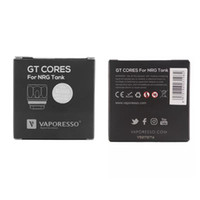 Wholesale Head Series - Vaporesso GT Series Cores NRG Coil Head GT2 0.4ohm GT4 GT8 0.15ohm Replacement Coils for REVENGER Kit and NRG Tank