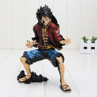 18cm Anime One Piece King of Artiste The Monkey D Luffy PVC Action Figure Collection Toy couleur noire luffy