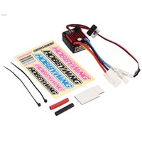 Wholesale Esc Brush Rc - New Waterproof Brushed 60A Electronic Speed Controller ESC 1060 for RC 1 10 Car 59F