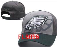 Wholesale Eagle Plastic - hot sale New Fashion Unisex Philadelphia Hats Eagles adjustable for Men women Snapback Cap