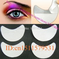 Others pad applications - pair disposable eyeshadow shields pad for perfect eye makeup application beauty eye Shadow Shields