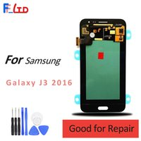 Wholesale Super Lcd - Super AMOLED HD for Samsung Galaxy J3 2016 J320 J320F J320H J320M J320FN LCD Display Digitizer Assembly Replacement 100% Tested