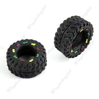 Gros-gratuites 5pcs d'envoi / lot Pet Puppy Dog Cat animal mâcher Squeaky Siffleur son Rubber Tire Shape Toy New Y106