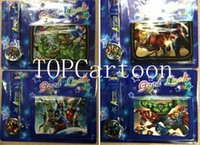 Wholesale Avengers Pin - New The Avengers Batman Quartz Watches and Wallet Sets Children Gifts AB6