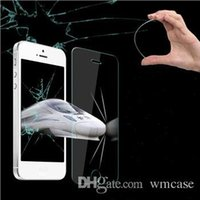 Wholesale S4 G3 - Premium Real Tempered Glass Film Screen Protector for Galaxy S6 S5 S4 Note 4 iPhone 5 5S 6 Plus Sony Xperia Z3 MOTO G G2 LG G3