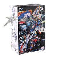 Wholesale Gundam Assembly Robots - Free Shipping + Dropship am Wing Fighter 1 100 Scale Model Kit Assembly Toy