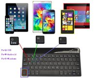 All'ingrosso-russo tastiera Bluetooth per tutte le finestre Android iOS Tablet PC ASUS VivoTab Nota 8 Microsoft Surface HP flusso Dell Venue