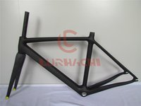 WT-T038 Road Bike Track Frame, Full Carbon Fiber Track Frame, Frame + Fork + Seat Post + Headset + Clamp, Tamanho 47/49/51/54/57 / 60cm