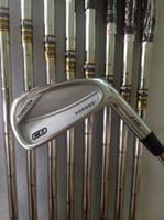 Wholesale Cb Golf - Golf clubs CB Forged 716 Irons set 3456789P With Dynamic Gold Steel S300 shaft 8PCS CB 716 Golf Irons Come headcovers