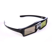 Wholesale Benq New 3d Glasses - 2017 New 3pcs 3D DLP-Link active glasses eyewear for Acer BenQ Optoma ViewSonic DELL Projector Free Shipping!