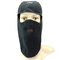 Wholesale Motorcycle Skull Cover - Wholesale-S111 Free Shipping 1 pieces Men Snowboard Winter Bicycle Motorcycle Neck Full Face Mask Cover Hat Cap Ski