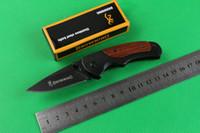 Wholesale Browning Folding Knifes - Browning FA15 mini small pocket folding knives camping hunting knife tool hand wood handle 6pcs freeshipping