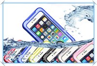 Wholesale iphone 5s snow white resale online - Waterproof Dirt Snow Shock Water Proof Shockproof Case For iphone6 S S Samsung s3 s4 s5 note4 Case