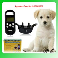 Wholesale Product Levels - one to one Remote Training Controller Multifunctional Training Collar with LCD Display 4 levels of Vibration and Static HT-032