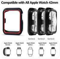 Custodia protettiva in silicone per Apple Watch Iwatch Series 3/2/1 38 / 42mm iWatch Black
