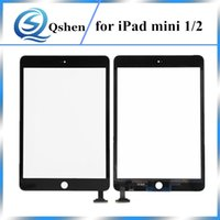 Compra Mini Ipad Bianco-Testato al 100% per iPad Mini 1 Touch Screen Digitizer per iPad Mini 2 Glass Panel Nero Bianco Repartment Repair Parts
