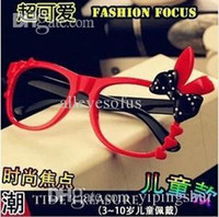 Wholesale Hello Bunny - YJ005 Latest Fashion Super Meng Chao Hello Kitty Bunny Girl Personality Leopard Glasses Frame Jewelry Factory Direct