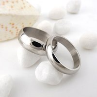 Wholesale 18mm Ring Width - .Retail Fashion Couple Stainless Steel Real Love Wedding Engagement Bands Ring width 6MM diameter 16mm 17mm 18mm 19mm 20mm 21mm