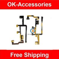 Wholesale Ipad Power Button - 5PCS Lot High Quality Power and Volume Flex Switch On Off Button Replacement For Ipad 2 CDMA Free Shipping