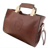 Wholesale Vintage Leather Doctors Bag - Bolsas PU Leather Ladies Classic Clutch Handbags Sequined Women Vintage Messenger Bag Zipper Sac Pochette