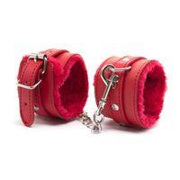 Wholesale chain restraints - PU Leather Women Handcuffs Restraints Bondage lady girl bracelet