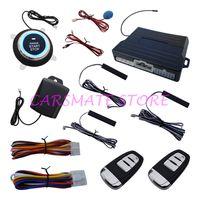 Wholesale remote passive keyless entry for sale - Quality Universal Smart PKE Passive Keyless Entry Car Alarm System With PKE Antennas Remote Engine Start Keyless Go System