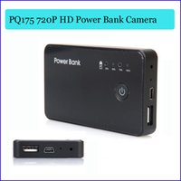 UK uk-uk - 16GB Dual USB port charger HD 720P Power Bank hidden camera worktime 12 hours Motion detection spy camera Real backup power bank PQ175