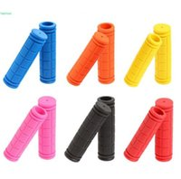 Wholesale Bicycle Grips Mtb - ANTS BMX MTB Bike Bicycle Handlebar Grips Fixed Gear Bike Rubber Grips Good Quality Brand New Hot Sales Free Shipping