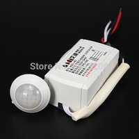 Wholesale 1pcs High Quality Easy to install W V IR Infrared Module Body Sensor Intelligent Light Motion Sensing Switch