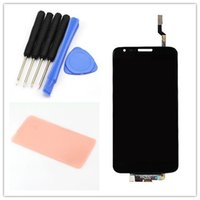 """Wholesale Lg Touch Screen Verizon - Wholesale-Black LCD Display For LG Optimus G2 VS980 LS980 Touch Screen with digitizer with """"verizon"""" + Adhesive + Tools ,Free"""